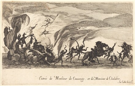 Entry of M. de Couvonge and M. de Chalabre