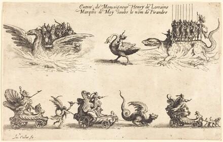 Entry of Monseigneur Henry de Lorraine, Marquis de Moy, under the Name of Pirandre