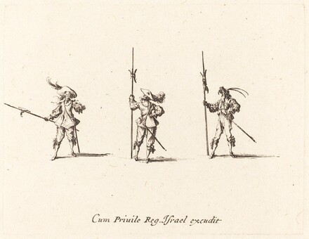 Drill with Halberds