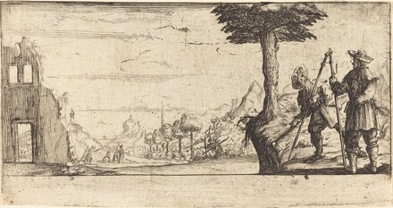 Landscape with Two Pilgrims