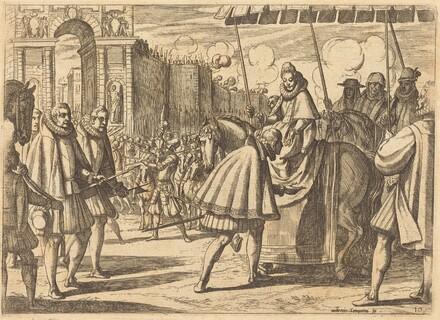 Triumphal Entry of Margaret of Austria