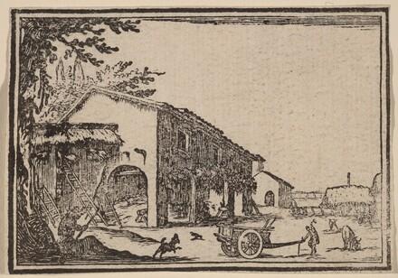 Courtyard of a Farm