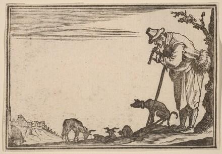 Shepherd Playing Flute