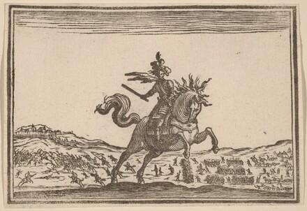 Military Commander on Horseback