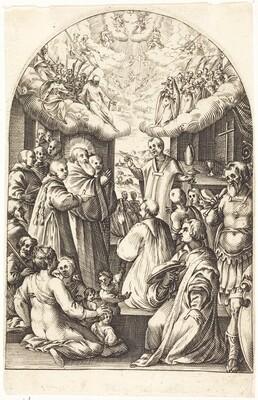 Death of Saint Benedict