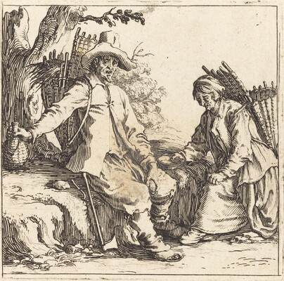 Peasant Couple at Rest