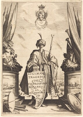 Title Page for Il Solimano