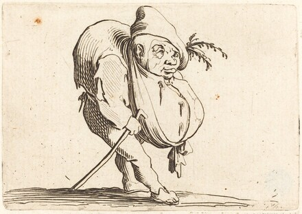 The Hunchback with a Cane