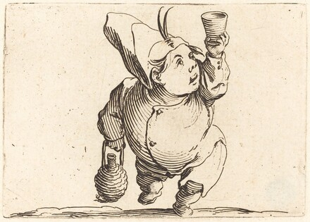 The Drinker, Front View