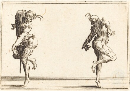Two Pantaloons Dancing