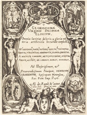 Frontispiece for Gloriosissimae