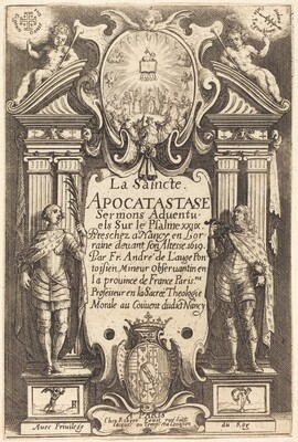 Frontispiece of the Holy Apocatastase