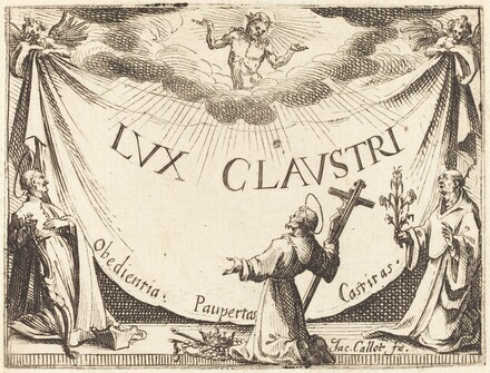 Frontispiece for The Light of the Cloister