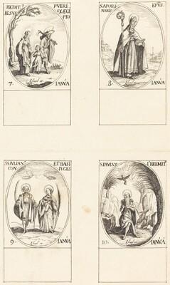 Return from Egypt; St. Apollinaire; St. Julian and Basilissa; St. Paul Hermit