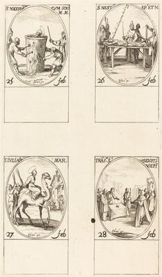 St. Nicephorus; St. Nestor; St. Julian; Translation of St. Augustin