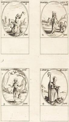 Sts. Pamphilius and Porphyrius; St. Blandina and Companions; St. Erasmus; St. Optatus