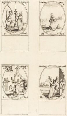 Sts. Gervase & Protase; St. Silverius; St. Eusebius of Samosata; St. Paulinus of Nola