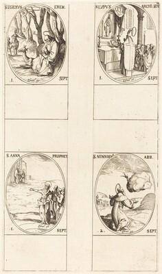 St. Giles; St. Lupus; St. Anne; St. Nonnosus