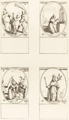 Sts. Gorgonius & Dorothy; St. Nicholas of Tolentino; St. Polianus & Nemesian; St. Pul