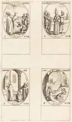 St. Remigius; St. Leodegarius; St. Gerard, Abbot; St. Francis of Assisi
