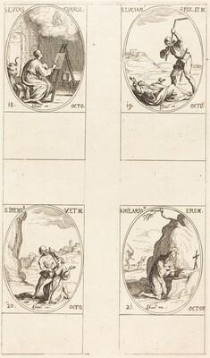 St. Luke; St. Lucian; St. Irene; St. Hilarion