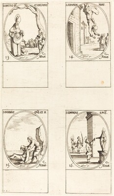 St. Brice; St. Serapion; St. Eugenius; St. Edmund