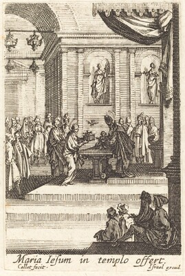 The Virgin Presents Jesus at the Temple