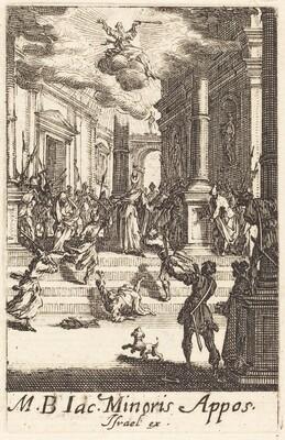 The Martyrdom of Saint James Minor
