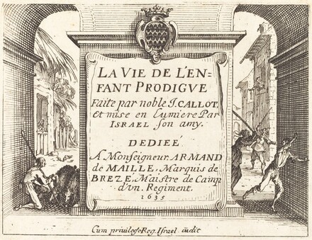 Frontispiece for The Prodigal Son