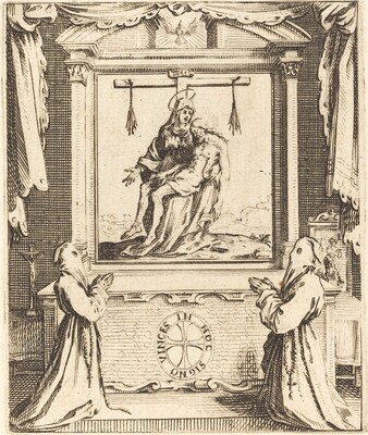 Frontispiece for The Order of the White Penitents at Nancy