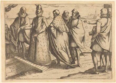 Embarkation at Genoa
