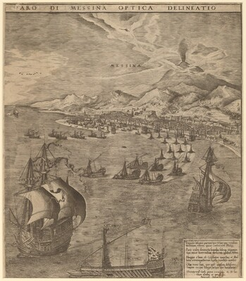 Naval Battle in the Straits of Messina