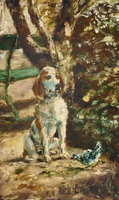 The Artist's Dog Flèche