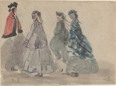 Four Women at Trouville