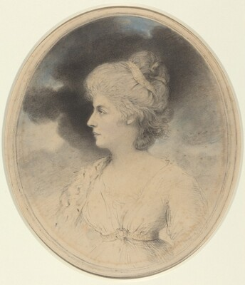 Portrait of a Woman in Profile