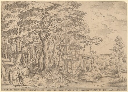 Landscape with the Temptation of Christ