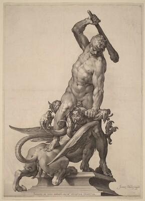 Hercules Killing the Hydra