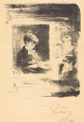Enfant Dessinant (Child Drawing)