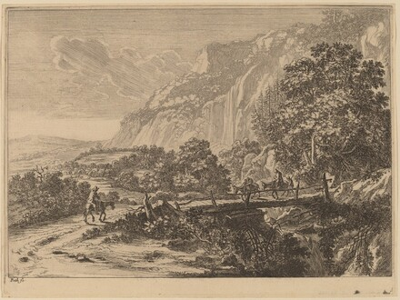 The Wooden Bridge at Sulmona near Tivoli