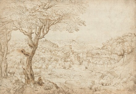Landscape with the Penitence of Saint Jerome