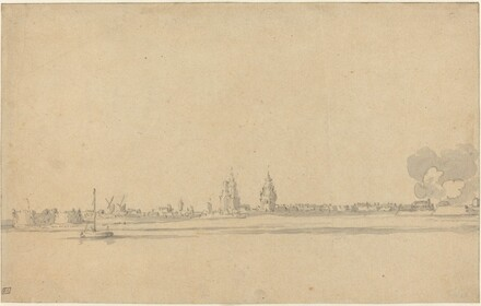 View of a Dutch Town (Delft?)