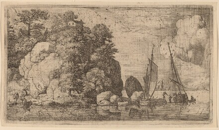 Two Boats on a Wide River