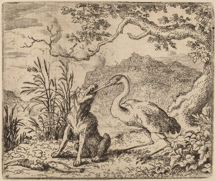 The Wolf and the Crane