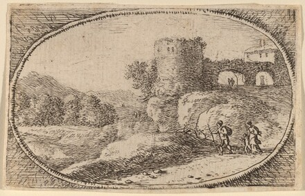 The Large Round Tower