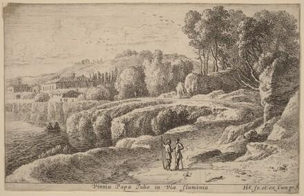 Vineyard of Pope Julius on the Via Flaminia