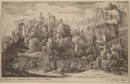 Antique Ruins of an Amphitheatre