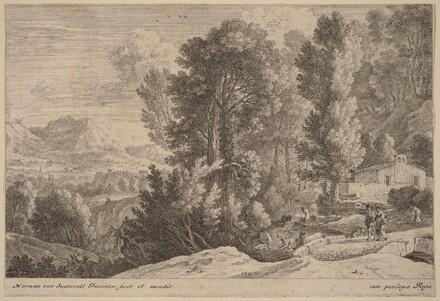 Landscape with Laundresses