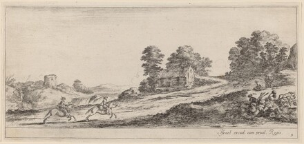Galloping Horsemen