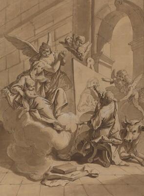 Saint Luke Painting the Virgin