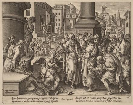 Saint Paul Heals the Lame Man at Lystra